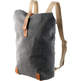 Brooks Pickwick Canvas Backpack small grey